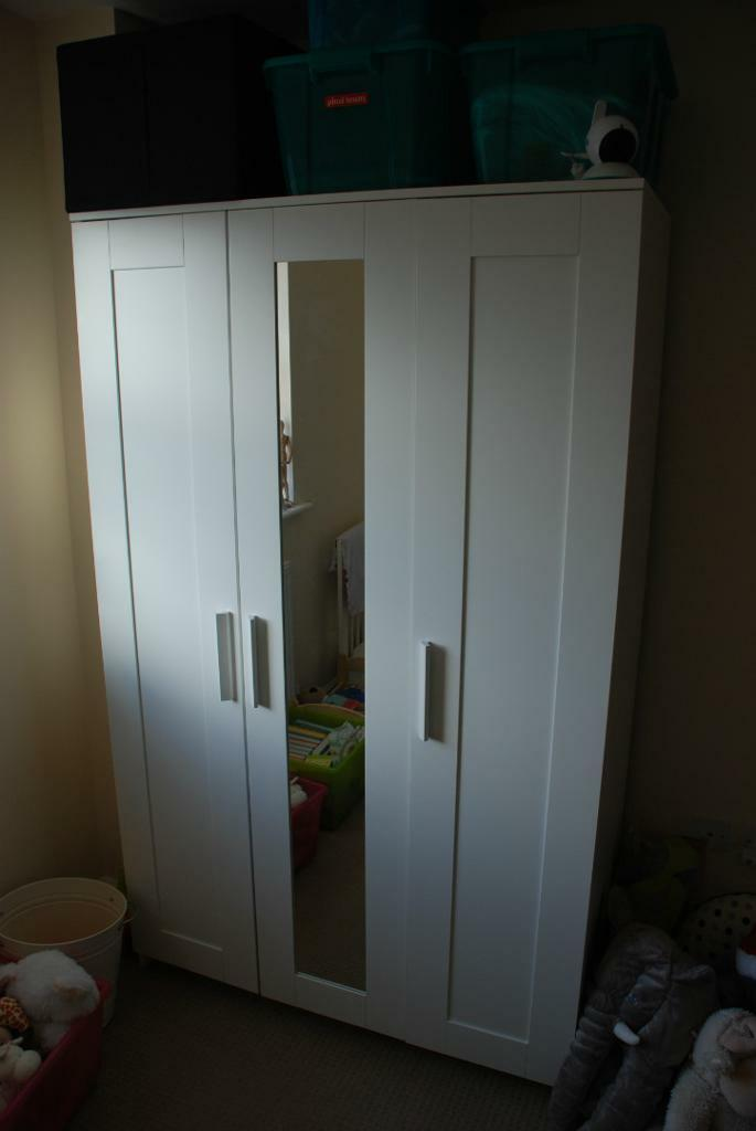 Ikea brimnes wardrobe with 3 doors Buy, sale and trade ads