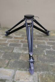 Ex-Army Tripod. As new. Still in maker's carrying bag and box.