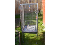 Large parrot cage now reduced to £25 for quick sale