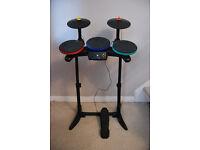 xbox 360 Band Hero Wireless drum kit