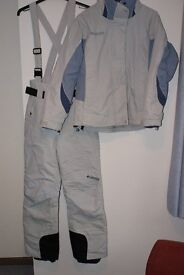 Women's Columbia Ski Jacket and matching trousers / salopettes size UK 10-12