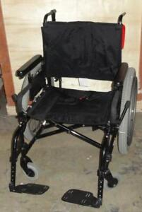 "21"" Quickie M6 Heavy Duty Folding Wheelchair wheel chair 650 lbs capacity"