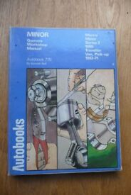 Morris Minor Owners Workshop Manual - Autobook 770 by Kenneth Ball