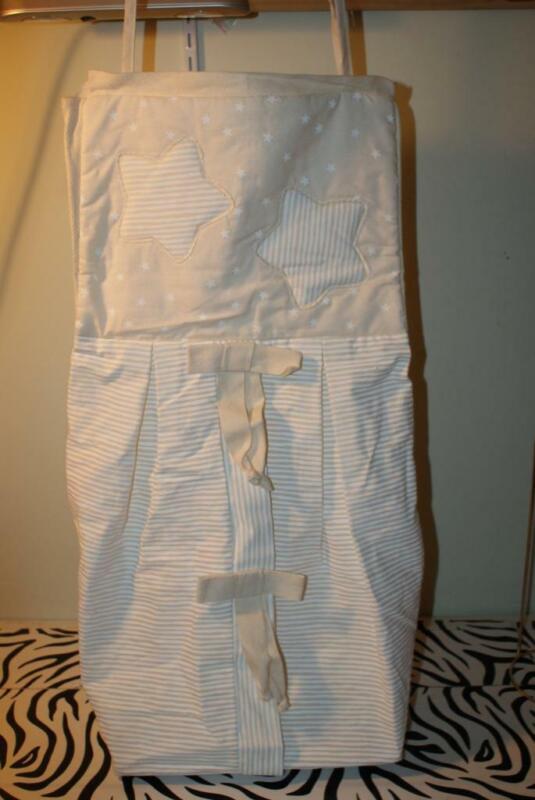 "Natural Cotton ""Star"" Hanging Diaper Storage ~ NEW!"