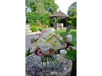 Creative florist and fabulous wedding flowers