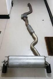 Bmw M140i exhaust system