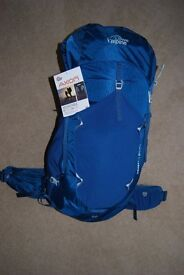 Lowe Alpine Zephyr 65:75 Backpack. Brand New with tag attached.