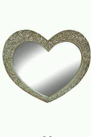 BLACK FRIDAY!! Mirror Large Heart Shaped Mirror £100