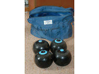NEW PRICE: Set of lawn bowls – Concorde Taylor Rolph – Size 5