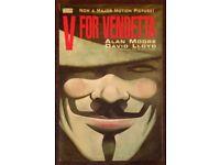 Vertigo 'V For Vendetta' Softback Graphic Novel (1990)