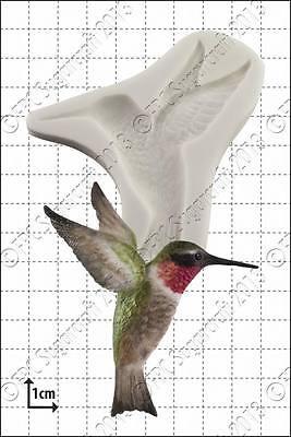 Silicone mould Humming Bird   Food Use FPC Sugarcraft FREE UK shipping!