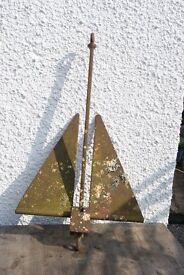 vintage Danforth anchor