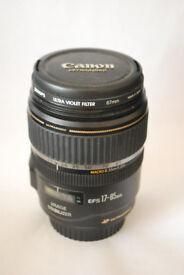 Canon 17-85mm lens