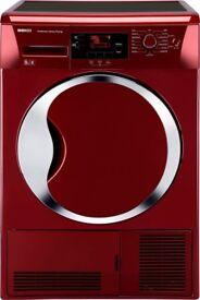 Beko 9 kg red dryer