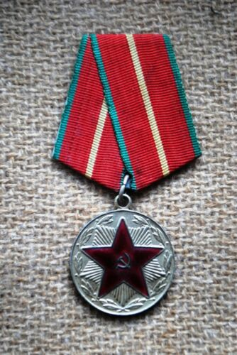 USSR  For 20 years of the Impeccable Service of the USSR (Fire Service)