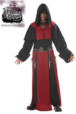 Gothic Priest Monk Dark Minion Assassin's Creed  Warrior Adult Costume