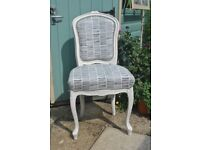 French Vintage Louis Style Side chair