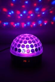 LED RGB Laser Crystal Magic Disco Ball Light DMX Auto Sound With Remote Control