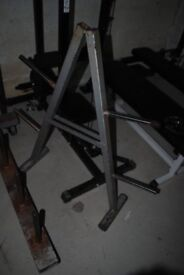 Used Standard Weight Plate Storage Tree - Weights Gym