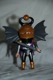 Playmobil 4696 Dragon prince figure in good condition.  100% complete.