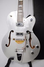 Gretsch G5420T Electromatic Silver Sparkle Guitar with Case £775