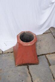 vintage dumpy clay chimney pot