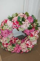 2 Gorgeous custom made wreaths for front door