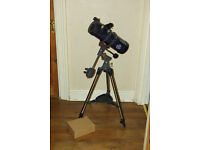 Celestron AstroMaster 114EQ Telescope; Condition: Like new