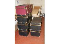 6 Vintage Seward Lock Latch Chest Box 30inch X 12inch X 16inch