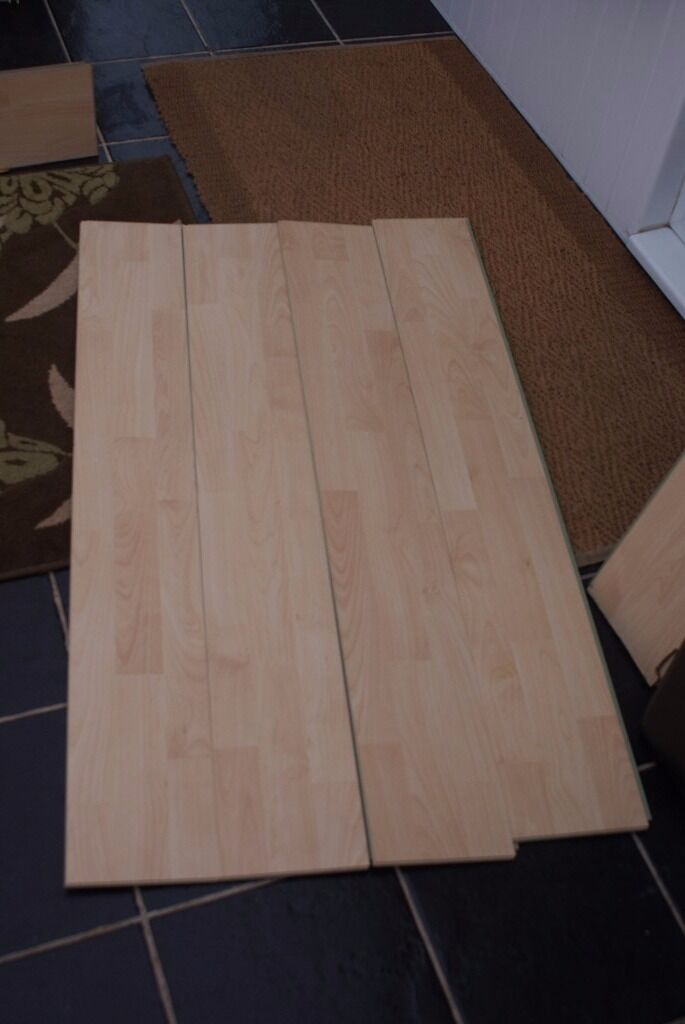 Laminate Flooring Homebase Avon With Some Edging Good Clean Condition Only 10
