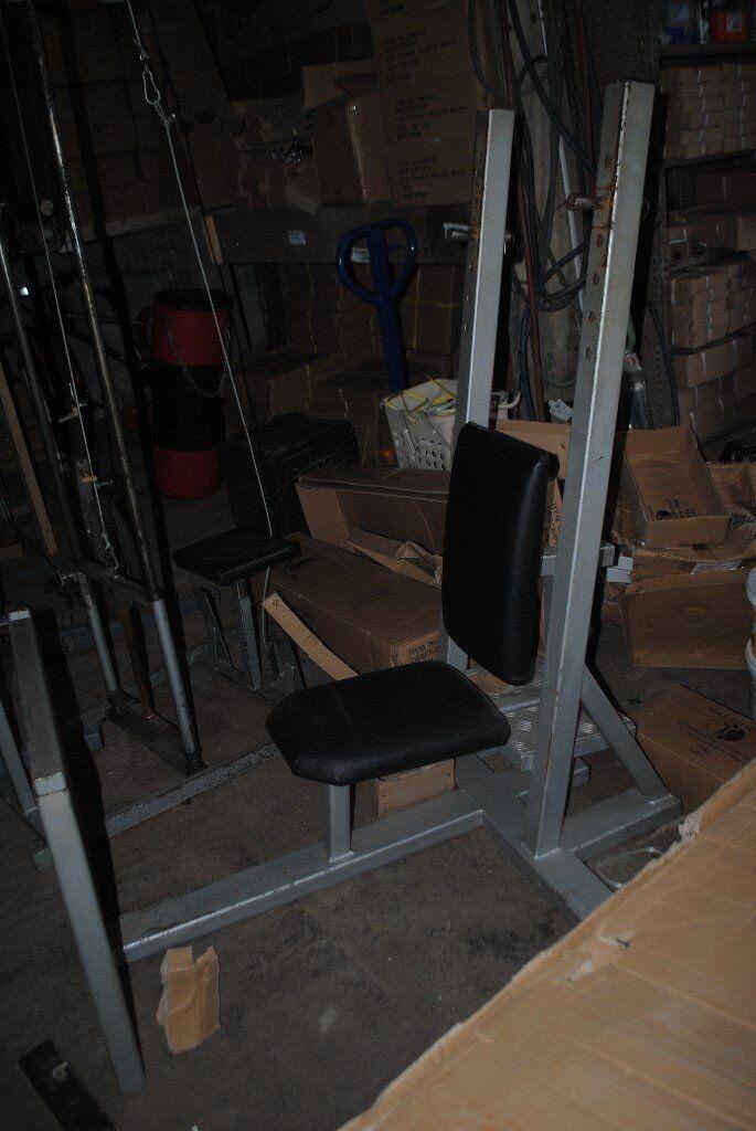 Commercial Grade Olympic Shoulder Press Bench