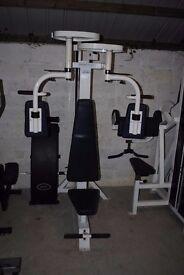 Powersport Pec Dec Chest Machine - Weights Gym