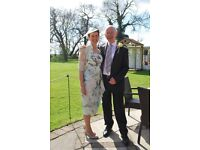 Mother of Bride outfit inc. hat - John Charles size 10