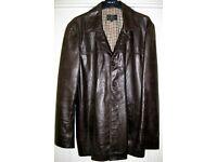 Mens Leather Jacket