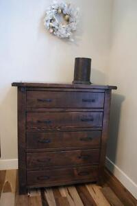 Stylish Reclaimed Wood Filing Cabinet ($1095) & More Office Furniture! By LIKEN Woodworks