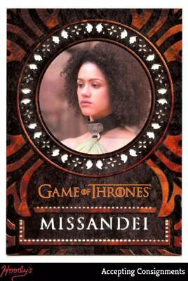 2019 Game of Thrones Inflexions Laser Cuts #L23 Missandei