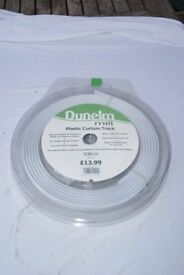 """unopened flexible curtain track and fittings 500cm 16foot5"""""""