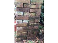 Garden edging bricks and scalloped edgings