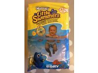Huggies little swimmers swim nappies, with finding Dory design Size 2-3 (BRAND NEW) (FFSP)