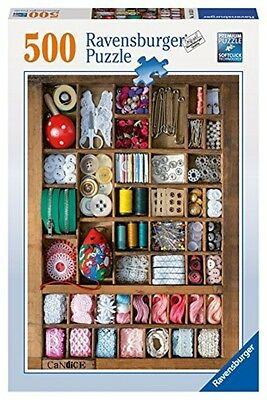 Ravensburger The Sewing Box Puzzle (500-Piece) 14352 Puzzle NEW