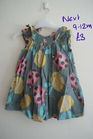 Girls dresses 6-12 months