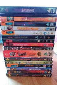 Retro Old Skool DVD Bundle - Jurassic Park, Mario, Batman, Jackie Chan, Ghostbusters, Beano etc.