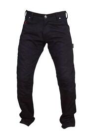 "Motorbike Kevlar Jeans size 30"" to 36"""