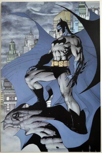 BATMAN STANDS VIGILANT Print DC Jim Lee