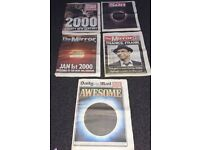 Some old newspapers, collectors items. All in pretty good condition.