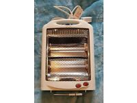 SMALL HALOGEN HEATER - NEVER USED