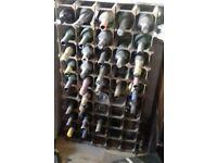 50 bottle wine rack