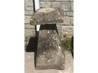 Staddle stone.