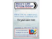 Driving Lessons with the Unique LD System, from Hove to West Worthing