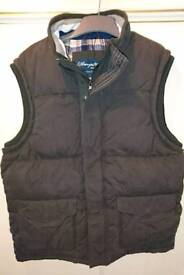 NEW UNWORN quality thick padded cotton gillet